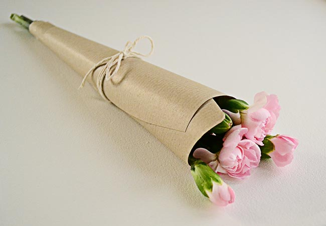 Flowers wrapped in brown paper image collections flower decoration flowers wrapped in brown paper images flower decoration ideas flowers wrapped in brown paper choice image mightylinksfo Gallery